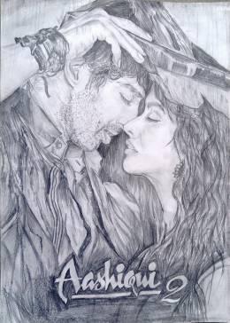 Aashiqui 2 by Soumya #Creative #Art #Sketching @touchtalent.com