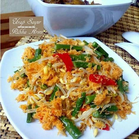 Resep Urap Sayur Versi Tumis Lebih Gurih Dan Tahan Basi Oleh Ribka Arini Resep Resep Masakan Masakan Resep