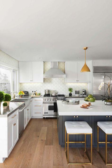 160 best Dream kitchens images on Pinterest | Kitchens, White ...
