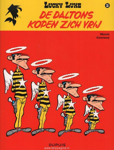 Lucky Luke Et Les Daltons : lucky, daltons, Lucky, Daltons, Kopen, Stripboeken,, Stripverhalen,, Strip