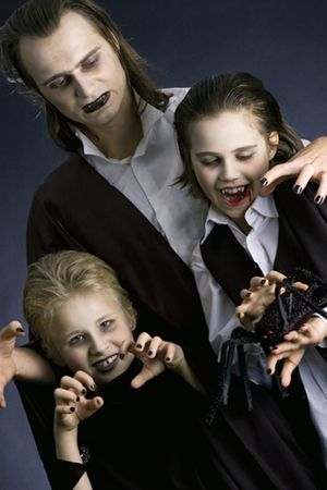 Need a fun, frugal theme for family Halloween costumes?