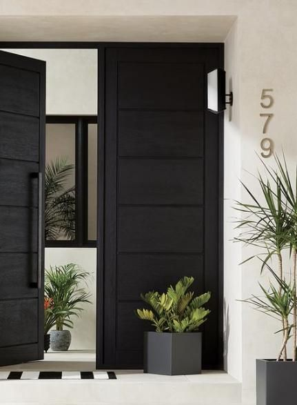 48 Trendy Exterior Wood Floor Front Doors Black Exterior Doors Double Wood Front Doors Modern Front Door