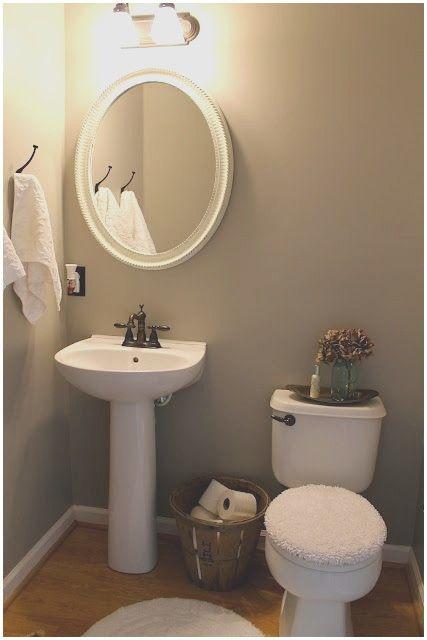 Pedestal Sink Bathroom Ideas Trendecors, Small Bathroom Pedestal Sink