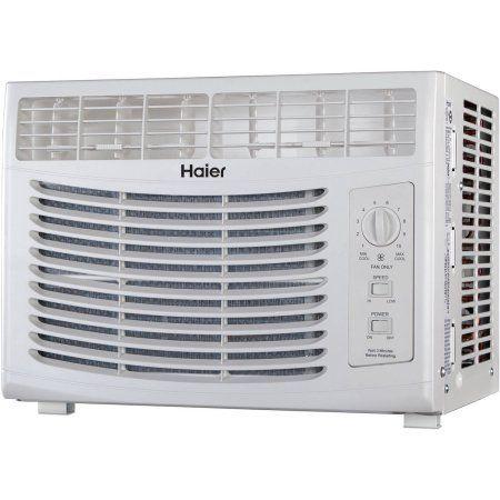 Haier 5 000 Btu Window Air Conditioner 115v Hwf05xcr L Walmart Com Window Air Conditioner Air Conditioner Units Air Conditioner