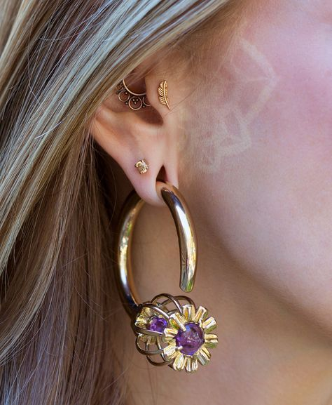 Somnia Ear Weights - Amethyst