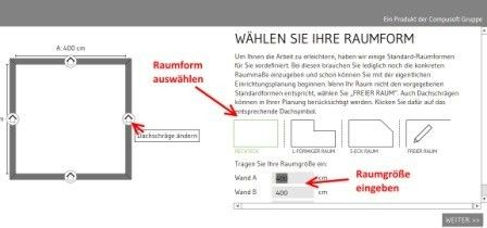 Schritt 2 Vom Online Badezimmerplaner Planer Badplanung Online