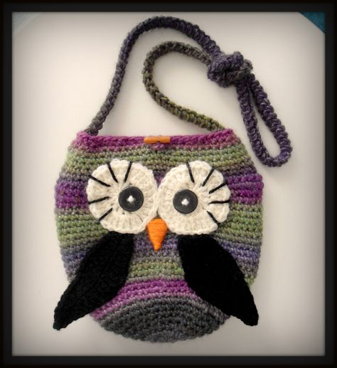 crocheted owl <3
