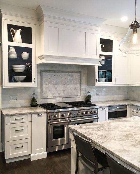 Kitchen Cabinet. Kitchen Cabinet and Hood. Shaker style kitchen cabinet. Shaker…