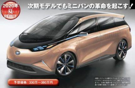 新型 2021 ミニバン