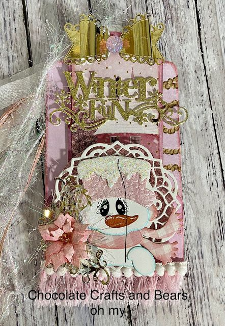 Carol Hurlock Christmas In Pink 2020 Pin by Hazel Smithies on Carol Hurlock crafts in 2020 | Chocolate