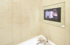 Tvs For Bathroom Avis Electronics Tv In Bathroom Waterproof Tv Mirror Tv
