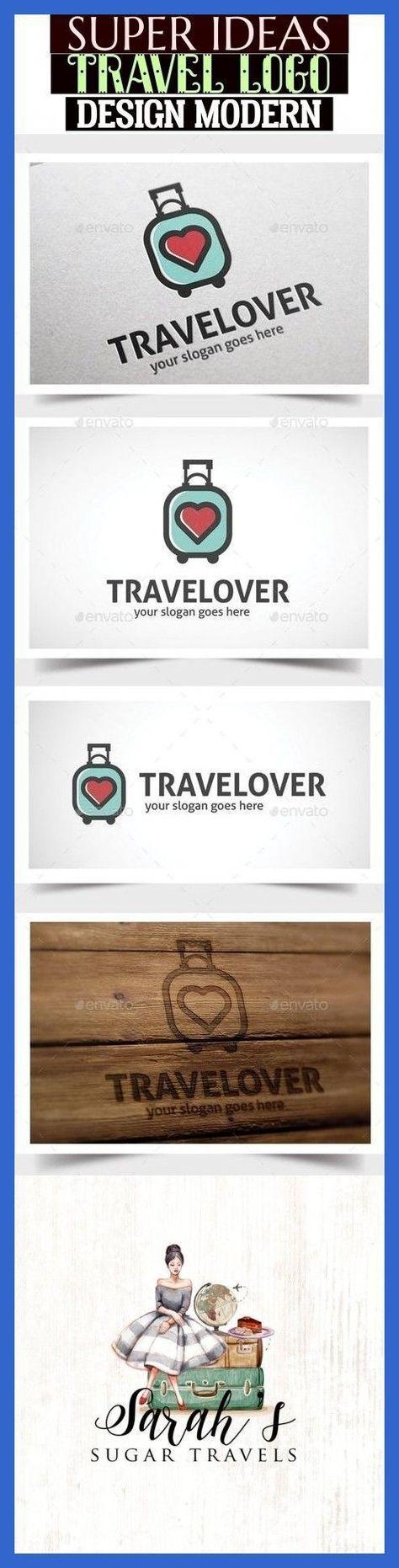 travel idea logo More Than 50 Super Ideas Travel Logo Design Modern #travelideas... -  - #design #Idea #Ideas #Logo #Modern #super #travel #travelideas