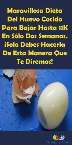 Dieta del huevo cocido para recuperar tu figurati