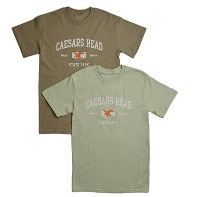 Caesars Head Hawk Watch t-shirts!  visit our park store at www.scparkstore.com