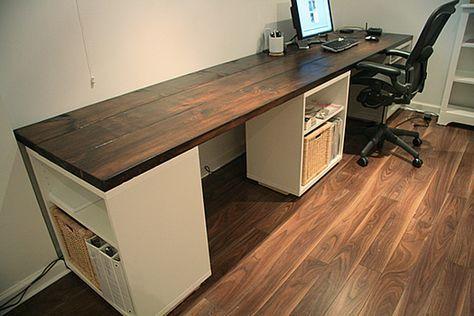 68 Ideas Diy Desk Computer Laptops In 2020 Diy Wood Desk Diy Office Desk Diy Desk