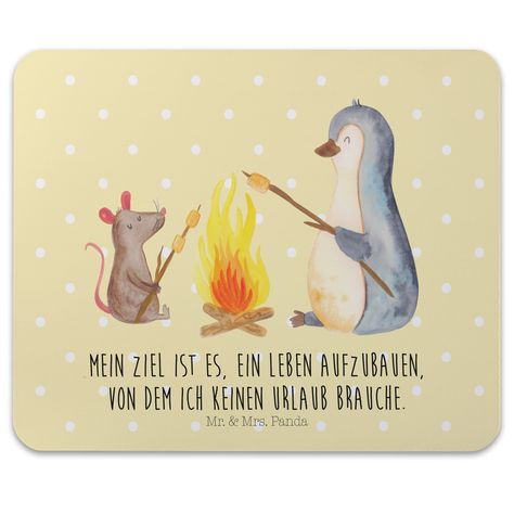 Mauspad Druck Pinguin Lagerfeuer aus Naturkautschuk black - Das Original von Mr. & Mrs. Panda. Ein wunderschönes Mouse Pad der Marke Mr. & Mrs. Panda. Alle Motive werden liebevoll gestaltet und in unserer Manufaktur in Norddeutschland per Hand auf die Mouse Pads aufgebracht. Über unser Motiv Pinguin Lagerfeuer Verwendete Materialien Hergestellt mit einer sehr hochwertigem und langlebigen Gummierung Über Mr. & Mrs. Panda Mr. & Mrs. Panda - das sind wir - ein junges Pärchen aus dem