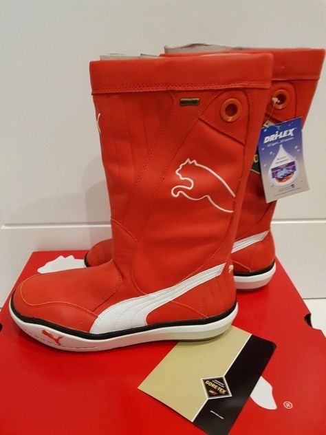 87b7ebb37ad PUMA LUFF GTX GORE-TEX Boots Sailing Volvo Ocean Race Yachting Boating NEW  UK 8