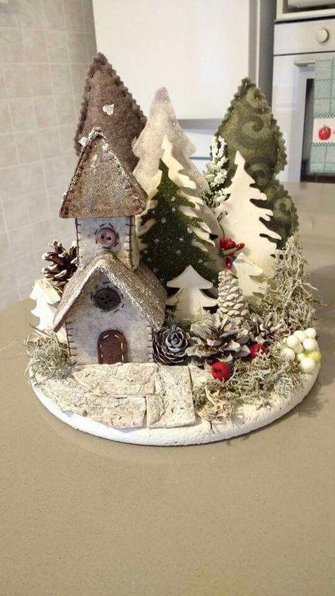 bd0617 Fiorelline | Manualidades de navidad recicladas, Artesanías de navidad y Manualidades navidad | www.gtrend.me
