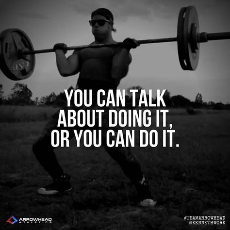 trainhard You can talk about doing it or...