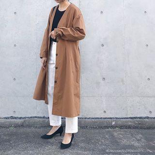 𝗮𝗰𝗰𝗼さん acco mama instagram写真と動画 coat fashion duster coat