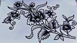 Fantastis 13 Gambar Batik Bunga Yang Mudah Sketsa Batik Bunga Sederhana Kata Kata Bijak 20 Gambar Sketsa Kumpulan Gambar Sketsa Bunga Di 2020 Tato Suku Bunga Gambar
