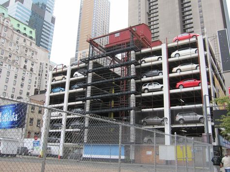 garages nyc in parking protection bumper garage car bully blog and