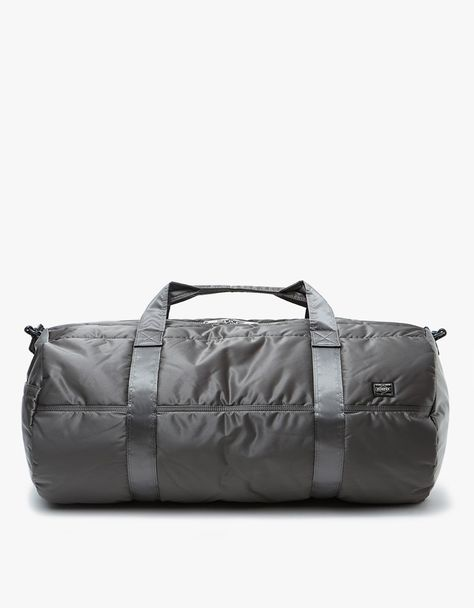 Porter-Yoshida   Co.   Tanker 2Way Boston Bag L in Silver Grey ... ddabb01f3a29f