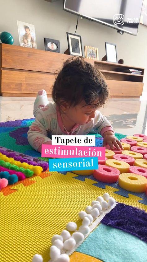 Tapete de estimulación sensorial