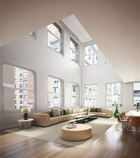 Shigeru Ban Creates Luxury Interiors For Private Housing Project In New York