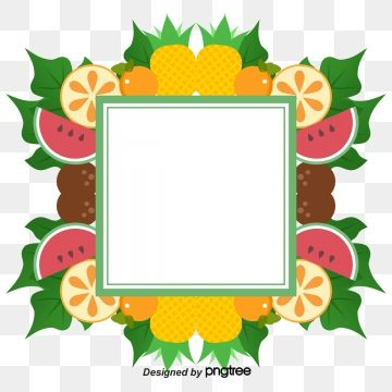 Fruit Border Vector Material Summer Border Fruit Borders Hand Drawn Border Png Transparent Clipart Image And Psd File For Free Download Hand Drawn Border How To Draw Hands Fruit Vector
