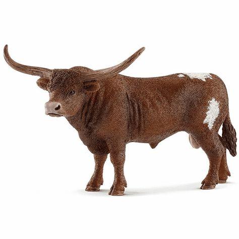 Texas Longhorn vache Schleich Farm Life vache Figure-Model 13865-NOUVEAU 2018