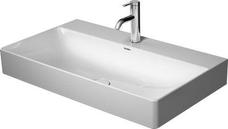 Durasquare Waschtisch Geschliffen 235380 Duravit Waschtisch Duravit Badezimmer