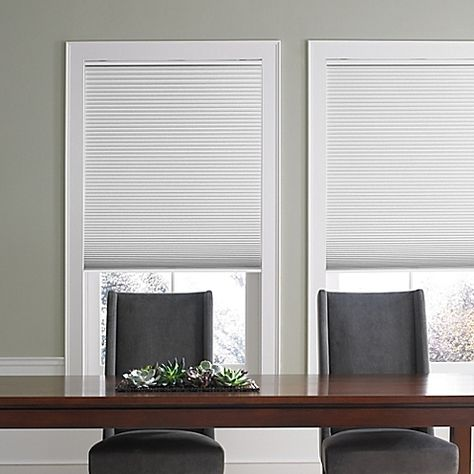 The Real Simple Cordless Blackout Cellular Shade Provides Privacy