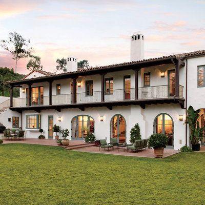 17 Classy Minimal Garden Landscaping Ideas In 2020 Hacienda Style Homes Spanish Style Homes Hacienda Style