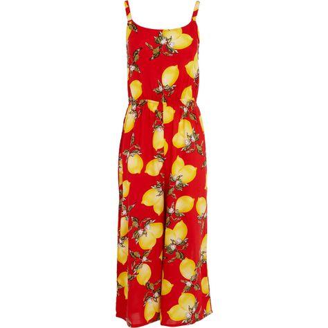 973ea1ed49dddd Red Lemon Jumpsuit - Jumpsuits & Playsuits - Clothing - Women - TK Maxx