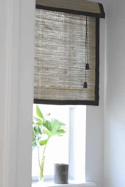 13 Classy Roller Blinds No Sew Ideas Bamboo Blinds Diy Blinds