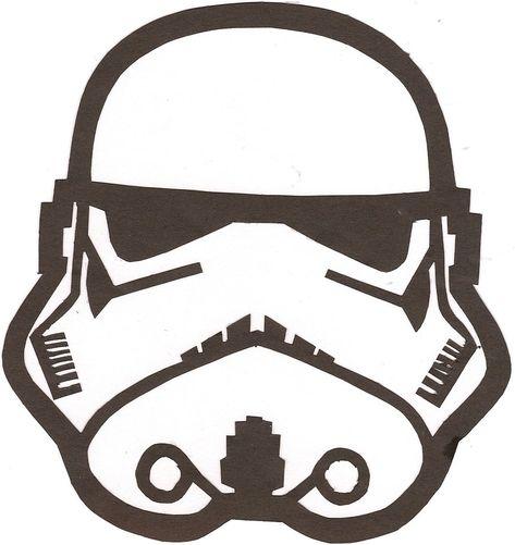 Stormtrooper Helmet Stencil Outline Pictures