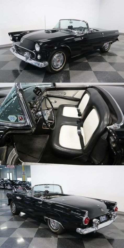 1955 Ford Thunderbird Convertible Classic Vintage Collector Ford Thunderbird Thunderbird Ford
