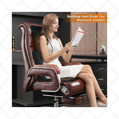Advertisement Shiatsu Massage Seat Cushion Heat Full Neck Back Massager Car Home Office Chair In 2020 Neck And Back Massager Shiatsu Massage Shiatsu Massage Chair