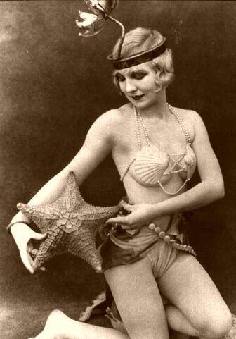 1920s mermaid.