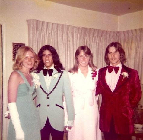 Prom fashion, 1970's style  OMG....this could be me!  lol