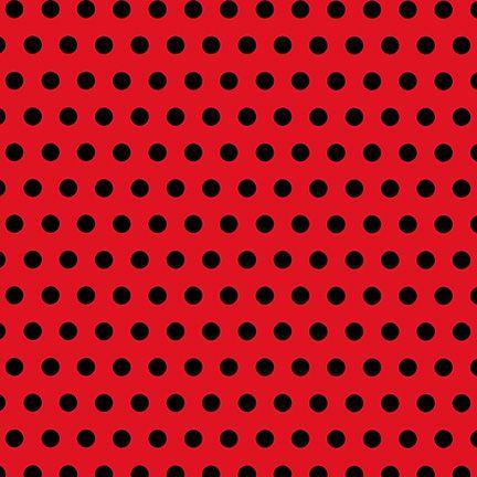Black Polka Dots Red Background Polka Dot Background Red Scrapbook Paper Paper Art Design