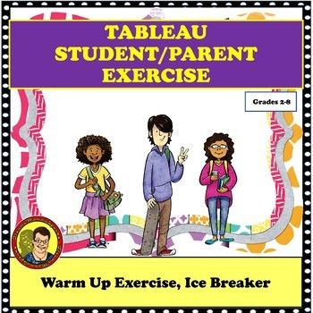 Drama lesson: tableau— acting exercise perfect parent