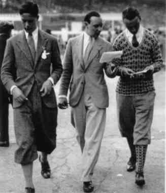 Herren 1920er Herrenmode