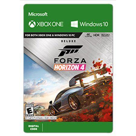 Forza Horizon 4 Deluxe Edition Microsoft Xbox Digital Download Walmart Com Forza Horizon Forza Horizon 4 Xbox One Games