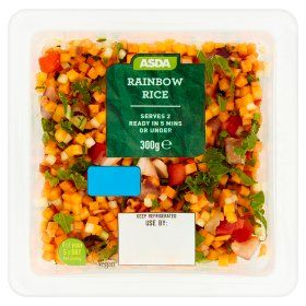 Asda Rainbow Rice Undefined Online Food Shopping Rainbow Rice Food