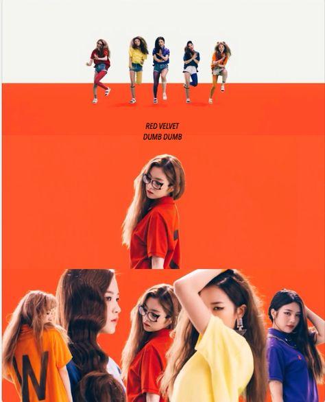 Red Velvet Dumb Dumb Wallpaper