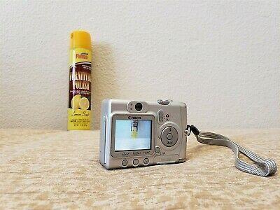 Canon Powershot A510 3 2mp Digital Camera 4x Optical Zoom Digital Camera Powershot Canon Powershot