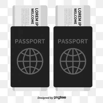 Vector Travel Passport Ticket For Free Download Passport Clipart Travel Vector Ticket Vector Png Transparent Clipart Image And Psd File For Free Download Passport Travel Passport Holder Vector
