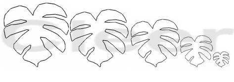 Foro de casas de muñecas y miniaturas :: Leaf pattern for plant